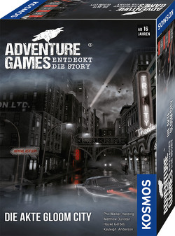 Adventure Games – Die Akte Gloom City