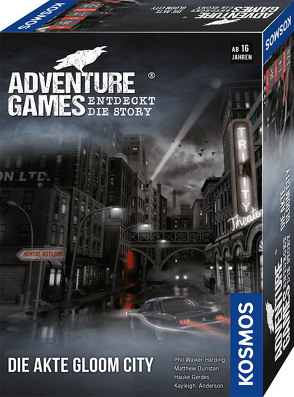 Adventure Games – Die Akte Gloom City