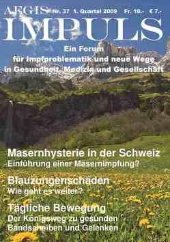AEGIS Impuls Nr. 37 von Klein,  T, Lehner,  B, Loibner,  Johann, Mettler,  S, Pertek,  A, Petek-Dimmer,  V, Zoebl