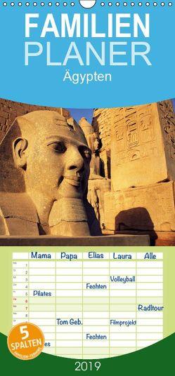 Ägypten – Familienplaner hoch (Wandkalender 2019 , 21 cm x 45 cm, hoch) von / Paterson / Runkel / Strigl / Webeler,  McPHOTO