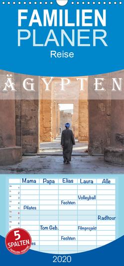 Ägypten – Familienplaner hoch (Wandkalender 2020 , 21 cm x 45 cm, hoch) von Kruse,  Joana