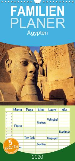 Ägypten – Familienplaner hoch (Wandkalender 2020 , 21 cm x 45 cm, hoch) von / Paterson / Runkel / Strigl / Webeler,  McPHOTO