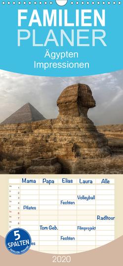 Ägypten – Impressionen – Familienplaner hoch (Wandkalender 2020 , 21 cm x 45 cm, hoch) von Weiss,  Michael