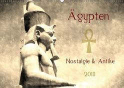 Ägypten Nostalgie & Antike 2018 AT Version (Wandkalender 2018 DIN A2 quer) von Hebgen,  Peter