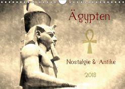 Ägypten Nostalgie & Antike 2018 AT Version (Wandkalender 2018 DIN A4 quer) von Hebgen,  Peter