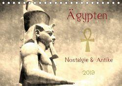 Ägypten Nostalgie & Antike 2019 AT Version (Tischkalender 2019 DIN A5 quer) von Hebgen,  Peter