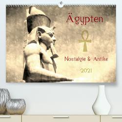 Ägypten Nostalgie & Antike 2021 (Premium, hochwertiger DIN A2 Wandkalender 2021, Kunstdruck in Hochglanz) von Hebgen,  Peter