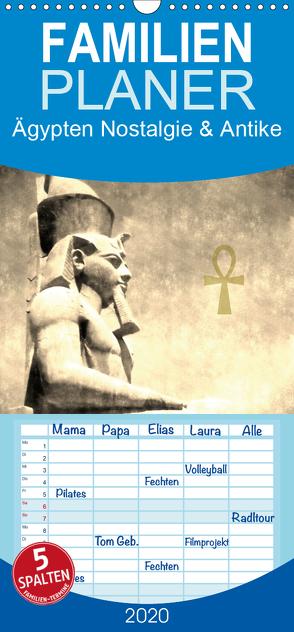 Ägypten Nostalgie & Antike – Familienplaner hoch (Wandkalender 2020 , 21 cm x 45 cm, hoch) von Hebgen,  Peter