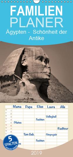 Ägypten – Schönheit der Antike – Familienplaner hoch (Wandkalender 2019 , 21 cm x 45 cm, hoch) von Wulf,  Guido