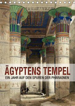 Ägyptens Tempel (Tischkalender 2019 DIN A5 hoch) von bilwissedition.com Layout: Babette Reek,  Bilder: