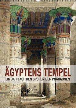 Ägyptens Tempel (Wandkalender 2019 DIN A2 hoch) von bilwissedition.com Layout: Babette Reek,  Bilder: