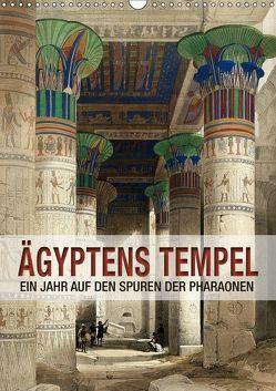 Ägyptens Tempel (Wandkalender 2019 DIN A3 hoch) von bilwissedition.com Layout: Babette Reek,  Bilder: