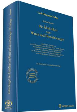 Ähnlichkeit von Waren und Dienstleistungen von Richter,  Bruno, Stoppel,  Wolfgang