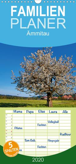 Ämmitau / Emmental – Familienplaner hoch (Wandkalender 2020 , 21 cm x 45 cm, hoch) von Müller Fotografin,  Beatrice