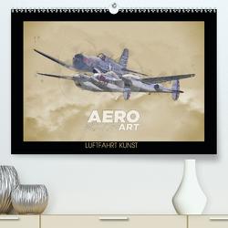 Aero Action Art – Luftfahrt Kunst (Premium, hochwertiger DIN A2 Wandkalender 2020, Kunstdruck in Hochglanz) von Delhanidis,  Nick