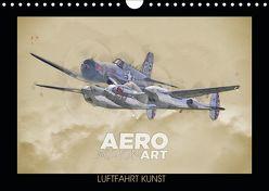 Aero Action Art – Luftfahrt Kunst (Wandkalender 2019 DIN A4 quer) von Delhanidis,  Nick