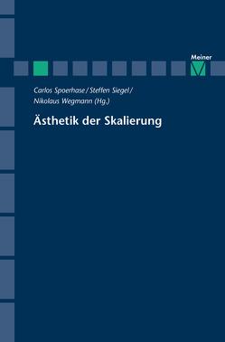 Ästhetik der Skalierung von Siegel,  Steffen, Spoerhase,  Carlos