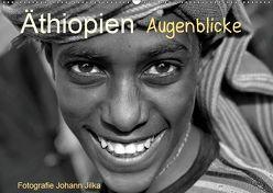 Äthiopien Augenblicke (Wandkalender 2019 DIN A2 quer) von Jilka,  Johann