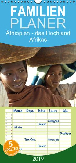 Äthiopien – das Hochland Afrikas – Familienplaner hoch (Wandkalender 2019 , 21 cm x 45 cm, hoch) von Siller,  Ronald