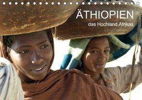 Äthiopien – das Hochland Afrikas (Tischkalender 2018 DIN A5 quer) von Siller,  Ronald
