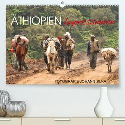 Äthiopien Impressionen (Premium, hochwertiger DIN A2 Wandkalender 2021, Kunstdruck in Hochglanz) von Jilka,  Johann