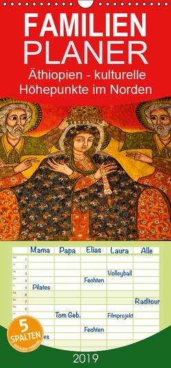 Äthiopien – kulturelle Höhepunkte im Norden – Familienplaner hoch (Wandkalender 2019 , 21 cm x 45 cm, hoch) von Krause,  Johanna
