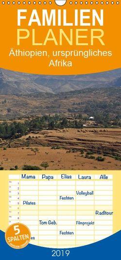 Äthiopien, ursprüngliches Afrika – Familienplaner hoch (Wandkalender 2019 , 21 cm x 45 cm, hoch) von Seifert,  Birgit