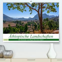 Äthiopische Landschaften (Premium, hochwertiger DIN A2 Wandkalender 2020, Kunstdruck in Hochglanz) von Harriette Seifert,  Birgit