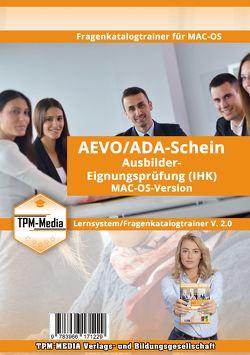 AEVO/ADA-Schein Fragenkatalog-Trainer für MAC-OS von Mueller,  Thomas