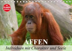 Affen – Individuen mit Charakter und Seele (Tischkalender 2020 DIN A5 quer) von Stanzer,  Elisabeth