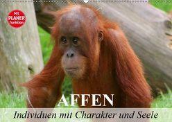 Affen – Individuen mit Charakter und Seele (Wandkalender 2019 DIN A2 quer) von Stanzer,  Elisabeth