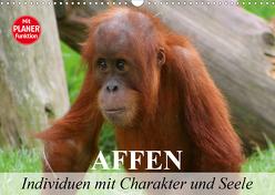Affen – Individuen mit Charakter und Seele (Wandkalender 2020 DIN A3 quer) von Stanzer,  Elisabeth