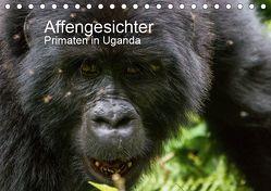 Affengesichter – Primaten in Uganda (Tischkalender 2019 DIN A5 quer) von Helmut Gulbins,  Dr.