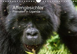Affengesichter – Primaten in Uganda (Wandkalender 2018 DIN A4 quer) von Helmut Gulbins,  Dr.