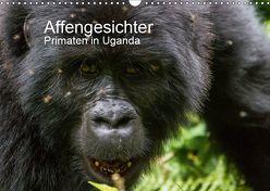 Affengesichter – Primaten in Uganda (Wandkalender 2019 DIN A3 quer) von Helmut Gulbins,  Dr.