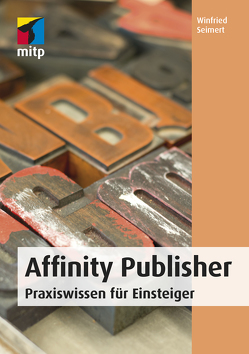 Affinity Publisher von Seimert,  Winfried