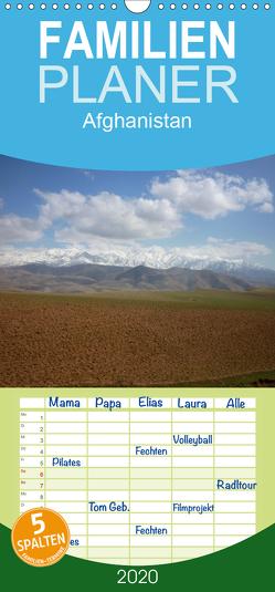 Afghanistan – Familienplaner hoch (Wandkalender 2020 , 21 cm x 45 cm, hoch) von Dornbrecht,  Gelwin