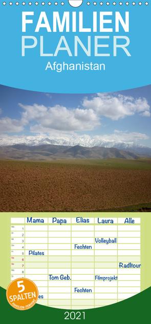 Afghanistan – Familienplaner hoch (Wandkalender 2021 , 21 cm x 45 cm, hoch) von Dornbrecht,  Gelwin