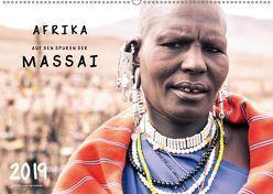 AFRIKA – Auf den Spuren der MASSAI (Wandkalender 2019 DIN A2 quer) von SEIFINGER,  TOBY