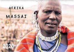 AFRIKA – Auf den Spuren der MASSAI (Wandkalender 2020 DIN A2 quer) von SEIFINGER,  TOBY