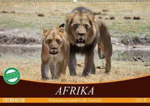 Afrika. Botswanas wundervolle Tierwelt (Wandkalender 2018 DIN A2 quer) von Stanzer,  Elisabeth