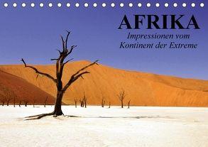 Afrika. Impressionen vom Kontinent der Extreme (Tischkalender 2018 DIN A5 quer) von Stanzer,  Elisabeth