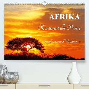 AFRIKA – Kontinent der Poesie (Premium, hochwertiger DIN A2 Wandkalender 2020, Kunstdruck in Hochglanz) von Woyke,  Wibke