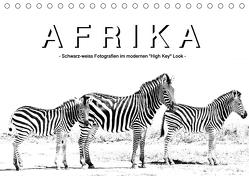 "AFRIKA – Schwarz-weiss Fotografien im modernen ""High Key"" Look (Tischkalender 2019 DIN A5 quer) von Styppa,  Robert"