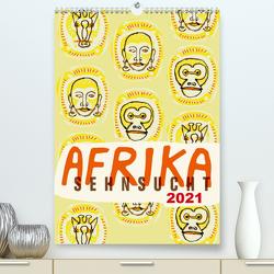 Afrika-Sehnsucht 2021 (Premium, hochwertiger DIN A2 Wandkalender 2021, Kunstdruck in Hochglanz) von Schmitt,  Norbert