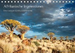 Afrikanische Impressionen (Tischkalender 2018 DIN A5 quer) von Heinzeroth,  Norbert
