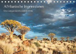 Afrikanische Impressionen (Tischkalender 2019 DIN A5 quer) von Heinzeroth,  Norbert