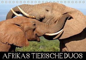 AFRIKAS TIERISCHE DUOS (Tischkalender 2018 DIN A5 quer) von Woyke,  Wibke