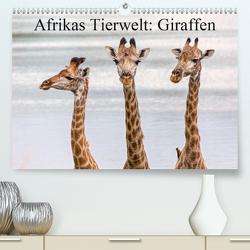 Afrikas Tierwelt: Giraffen (Premium, hochwertiger DIN A2 Wandkalender 2021, Kunstdruck in Hochglanz) von Voss,  Michael