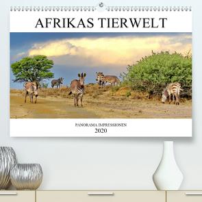 AFRIKAS TIERWELT Panorama Impressionen (Premium, hochwertiger DIN A2 Wandkalender 2020, Kunstdruck in Hochglanz) von N.,  N.